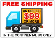 Free Shipping on Orders $99 or more